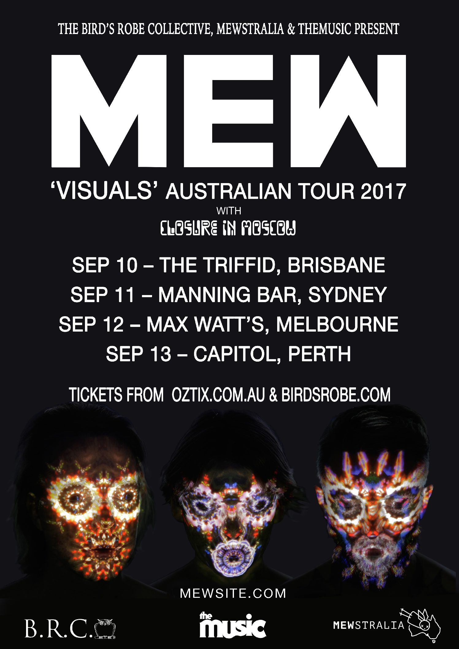 MEW announce Australian tour with Closure in Moscow