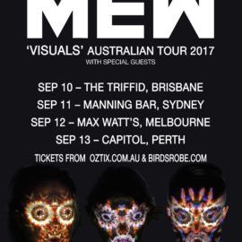 MEW announce Australian tour for September 2017