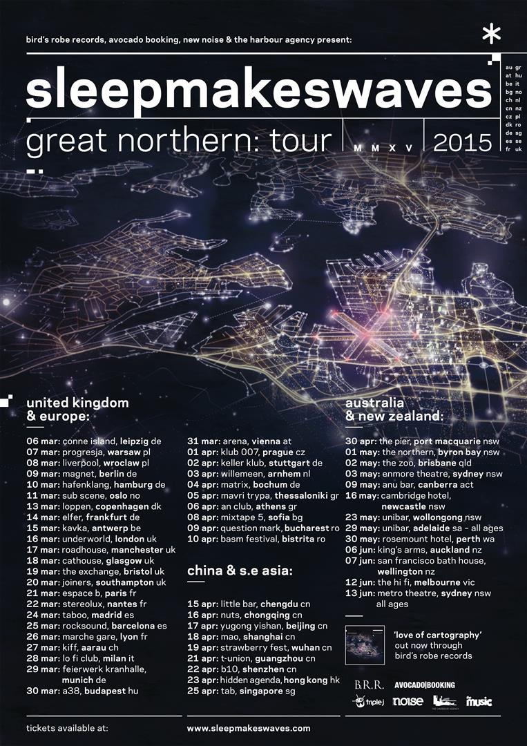 sleepmakeswaves add more dates to 'Great Northern' international tour