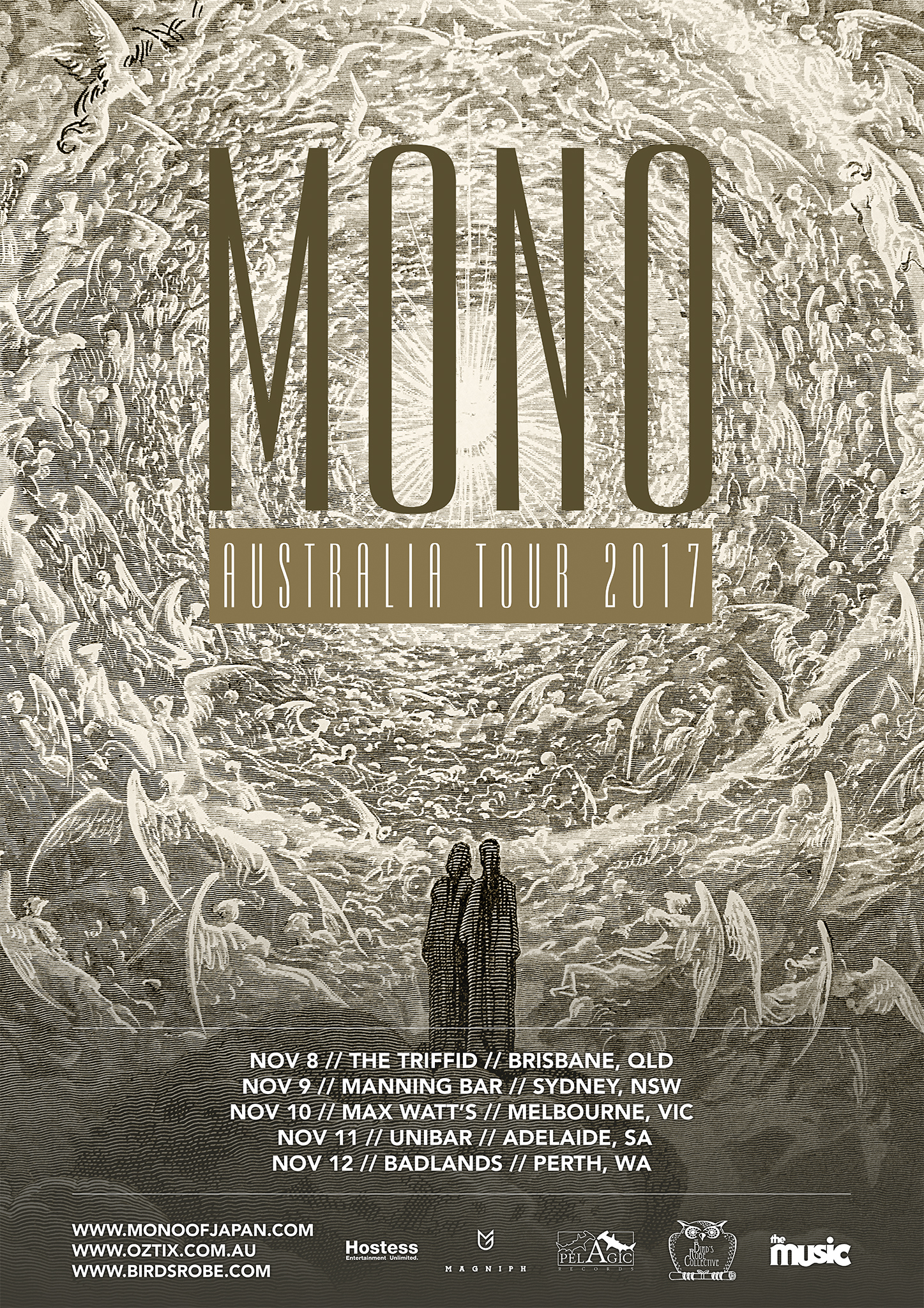 MONO announce Australian tour for November 2017 – including first time ever in Adelaide